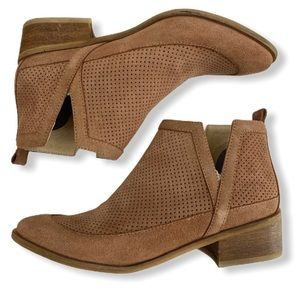 Kaanas Mexicali Suede ankle booties